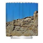 Avon Pier Crab On The Dune Cut 8/24 Shower Curtain
