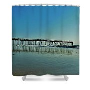 Avon Pier Reflection 39 10/2 Shower Curtain