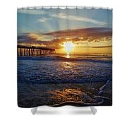 Avon Pier Surfers Paradise 9/08 Shower Curtain