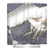 Avril Lavigne Shower Curtain