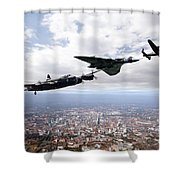 Avro Birds Shower Curtain