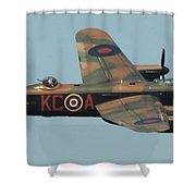 Avro Lancaster Shower Curtain