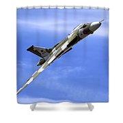Avro Vulcan B2 Xh558 G-vlcn Shower Curtain