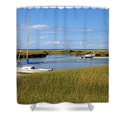 Awaiting Adventure Shower Curtain