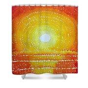 Awakening Original Painting Shower Curtain