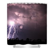 Awesome Strike Shower Curtain