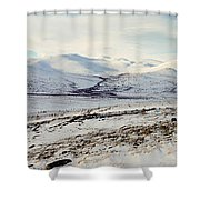 Awesome Yukon Mountains Shower Curtain