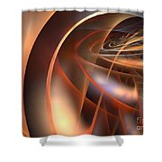 Axial Tilt Shower Curtain