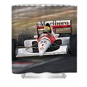Ayrton Senna Shower Curtain