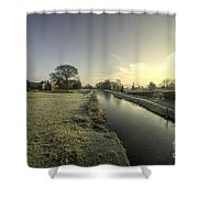 Ayshford Winter  Shower Curtain