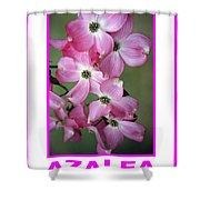 Azalea Savannah Georgia Shower Curtain