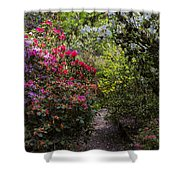 Azalea Trail Shower Curtain