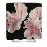 Azaleas Shower Curtain
