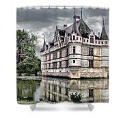 Azay-le-rideau Shower Curtain