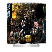 Azeroth Prime Movie Poster Shower Curtain