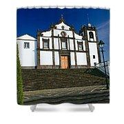 Azorean Church Shower Curtain