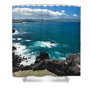 Azores Islands Ocean Shower Curtain