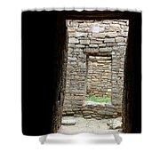 Aztec Doorway Shower Curtain