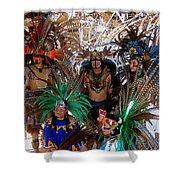 Aztec Performers O'odham Tash Casa Grande Arizona 2006  Shower Curtain