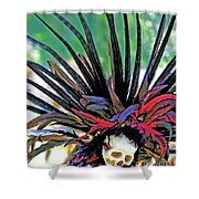 Aztecan Ceremony 15 Shower Curtain