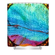 Azure Sunset Shower Curtain