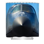 B-1 Bomber Shower Curtain