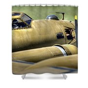 B-17 Shower Curtain