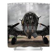 B-17 Dreams Shower Curtain