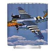 B-26b Marauder Shower Curtain
