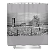 B And W Monroe Co. Shower Curtain