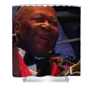 B. B. King Shower Curtain