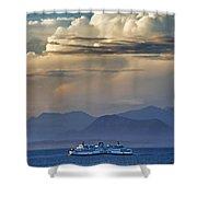 B C Ferries Hdrbt3403-13 Shower Curtain