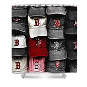 B For Bosox Shower Curtain