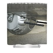 B17 Belly Guns Shower Curtain