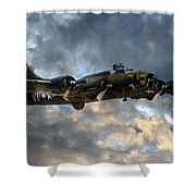 B17 Tribute Shower Curtain