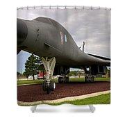 B1b Lancer Shower Curtain