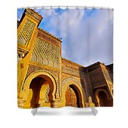 Bab Mansour In Meknes In Morocco Shower Curtain