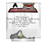 Babar Shower Curtain