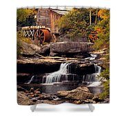 Babcock Grist Mill And Falls Shower Curtain