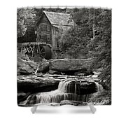 Babcock Grist Mill No. 1 Shower Curtain