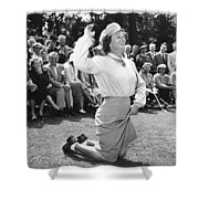 Babe Didrikson Zaharias Shower Curtain