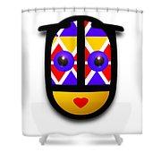 Babe Native Shower Curtain