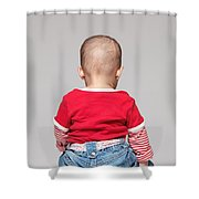 Baby Back Shower Curtain