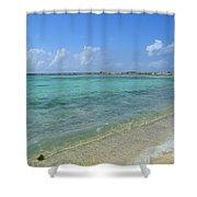 Baby Beach Aruba Shower Curtain