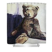 Baby Bear Shower Curtain