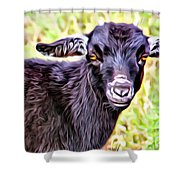 Baby Billy Shower Curtain