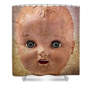 Baby Doll Face Shower Curtain