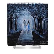 Baby I'm Yours Shower Curtain