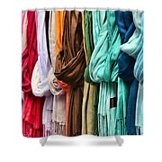 Baby It's Cold Outside By Diana Sainz Shower Curtain