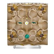 Baby Lord Ganesha Shower Curtain